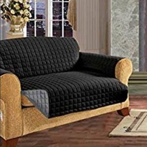 Reversible Furniture Protector Black/Gray